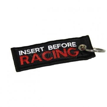 Chaveiro Insert Before Racing Metal Horse