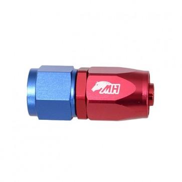 Conexão 8AN / AN8 Reto para Mangueira Aeroquip - American (Azul e Vermelho)