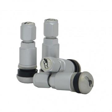 Válvula para Roda Esportiva em Alumínio (pneu) - Prata