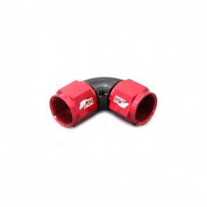 Adaptador Fêmea 10AN / AN10 em Curva 90° graus - Original (Preto e Vermelho)