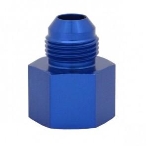 Niple Adaptador Expansor Fêmea 8AN para Macho 10AN - Azul