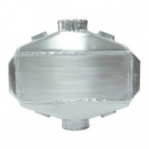 """Watercooler Intercooler Água para Ar Pequeno Entradas e Saídas Laterais 2-1/2"""""""