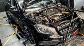 Reprogramação ECU TCU Stage  - Mercedes 45 AMG