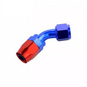 Conexão Epman 10AN 45 Graus- Azul / Vermelha