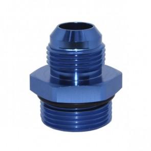 Adaptador Oring 16AN / AN16 para Macho Cônico 12AN / AN12 - Azul