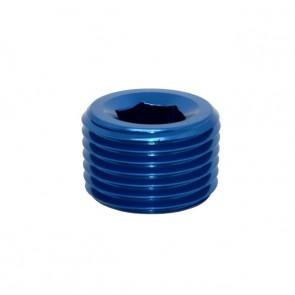 """Tampão para Rosca NPT 1/2"""" - Azul"""