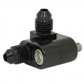 Niple respiro de água motores GM LS - Duplo - Preto