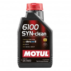 Óleo Motul 6100 SYN-clean (Semi-sintético) 5w30 1L