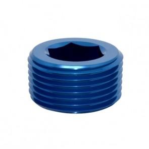 """Tampão para Rosca NPT 3/8"""" - Azul"""