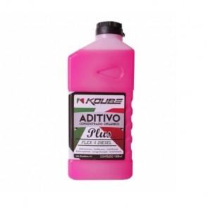 Fluido para Radiador Concentrado Orgânico (Plus) Flex e Diesel Koube 1L
