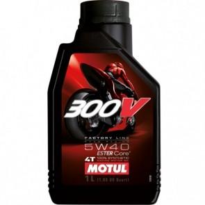 Óleo Motul 300V Factory Line Road Racing 5W40 1 Litro