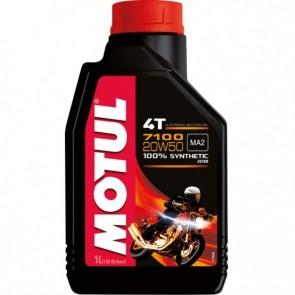 Óleo Motul 7100 4T (100% Sintético) 20W50 1L
