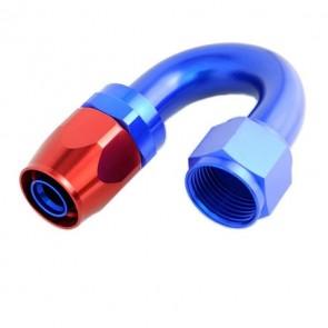 Conexão Epman 8AN 180 Graus- Azul / Vermelha