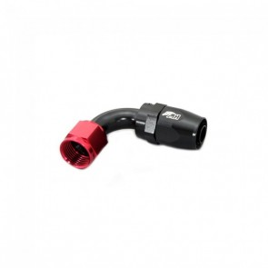 Conexão 8AN / AN8 Curva 90° graus Pro Light para Mangueira Aeroquip - Original (Preta e Vermelha)