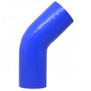 """Mangote Azul em Silicone 45º 2,75"""" Polegadas (70mm) * 120mm - Epman"""