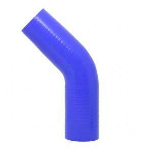 """Mangote Azul em Silicone 45º 2"""" Polegadas (51mm) * 120mm - Epman"""