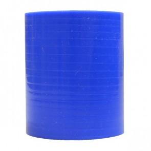 "Mangote Azul em Silicone Reto Liso 2,25"" Polegadas (57mm) * 76mm - Epman"