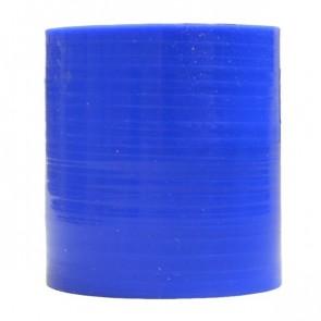 "Mangote Azul em Silicone Reto Liso 2,5"" Polegadas (63mm) * 76mm - Epman"