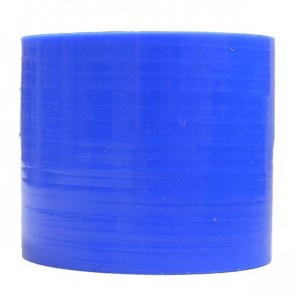 "Mangote Azul em Silicone Reto Liso 3"" Polegadas (76mm) * 76mm - Epman"