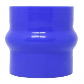 """Mangote Azul em Silicone Reto 2,5"""" Polegadas (63mm) * 76mm - Epman"""