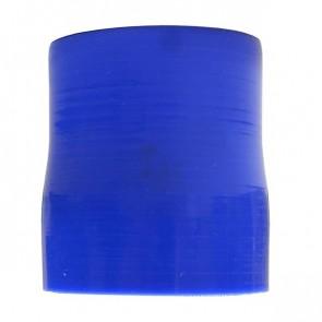 """Mangote Azul em Silicone Redutor Reto 2,5"""" (63mm) para 2,25"""" (57mm) * 76mm - Epman"""