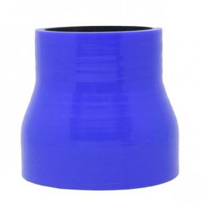 """Mangote Azul em Silicone Redutor Reto 3"""" (76mm) para 2,25"""" (57mm) * 76mm - Epman"""