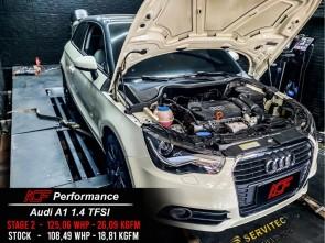 Reprogramação ECU TCU Stage  - Audi A1 1.4TFSI