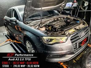 Reprogramação ECU TCU Stage  - Audi A3 2.0TFSI