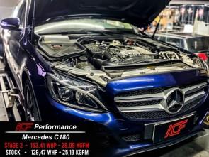 Reprogramação ECU TCU Stage  - Mercedes C180 W205