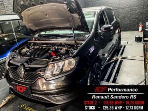Reprogramação ECU TCU Stage  - Renault Sandero RS