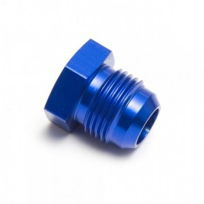 Tampão Rosca Macho 8AN - Azul