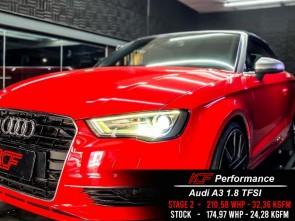 Reprogramação ECU TCU Stage  - Audi A3 1.8TFSI