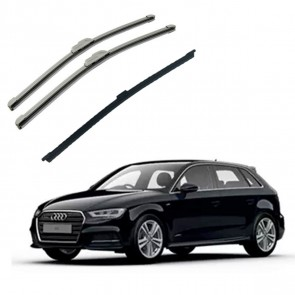 Kit Completo Palhetas para  Audi A3 Hatch 2013 - Atual