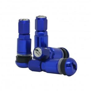 Válvula para Roda Esportiva em Alumínio (pneu) - Azul