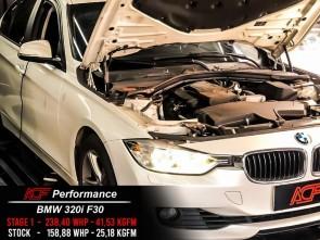 Reprogramação ECU STAGE 1 - BMW 320i F30 184cv