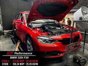 Reprogramação ECU STAGE 2 - BMW 320i F30 184cv