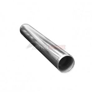 "Tubo em Aluminio Reto  2-1/2"" polegada x 600mm"