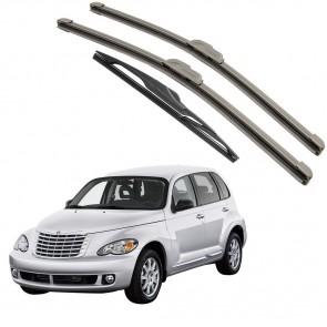 Kit Palhetas Dianteira e Traseira para Chrysler Pt Cruiser 2000 a Atual