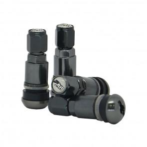 Válvula para Roda Esportiva em Alumínio (pneu) - Cinza