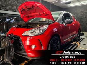 Reprogramação ECU TCU Stage  - Citroen DS3 1.6 THP - 165hp
