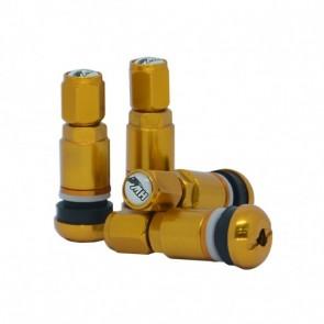 Válvula para Rodas (Pneu) modelo Racing - Dourado