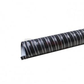 "Duto de Ar (Brake Duct) 2"" polegadas (50mm) x 4 Metros -  Preto"