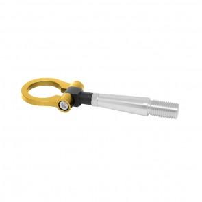 Engate Reboque Esportivo Billet fixação c/ rosca para Mitsubishi Lancer EVO EPMAN - Dourado