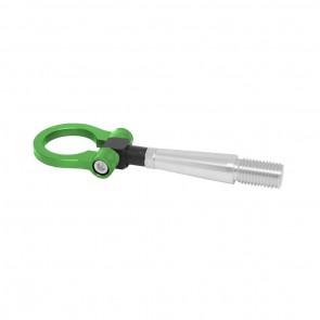 Engate Reboque Esportivo Billet fixação c/ rosca para Mitsubishi Lancer EVO EPMAN - Verde