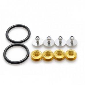 Kit de Arruela Billet para fixação de para-choques EPMAN - Dourado