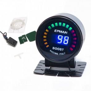 Indicador de Pressão para Turbo Manômetro Digital 52mm -1 a 3 BAR - Epman
