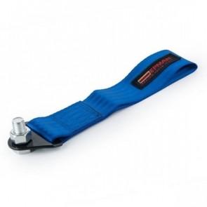 Engate Reboque Esportivo Universal de Tecido (Tow Strap) fixação c/ parafuso passante EPMAN - Azul