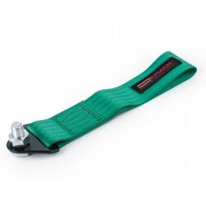 Engate Reboque Esportivo Universal de Tecido (Tow Strap) fixação c/ parafuso passante EPMAN - Verde