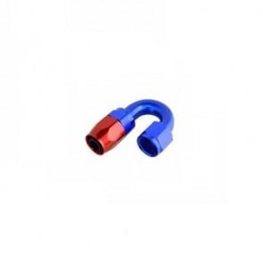 Conexão Epman 10AN 180 Graus- Azul / Vermelha
