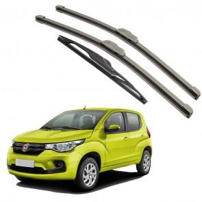 Kit Palhetas Dianteira e Traseira para Fiat Mobi Ano 2016 A Atual